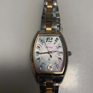 セイコー(SEIKO)のセイコールキア電波時計(腕時計)