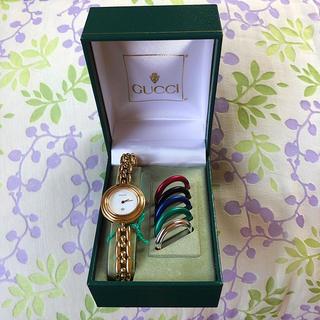Gucci - 美品   GUCCI    ㉗   腕時計・稼動品✨