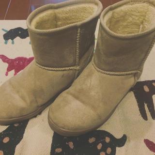 ムジルシリョウヒン(MUJI (無印良品))の無印良品 ムートンブーツ(ブーツ)