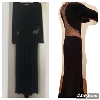 VENUS♡ゴールドレース黒ドレス