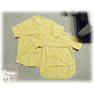 ピンクハウス(PINK HOUSE)のピンクハウス あひる柄 親子コーデ 半袖シャツ からし色(シャツ/ブラウス(半袖/袖なし))