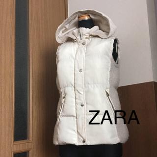 ザラ(ZARA)のZARA ダウンベスト 美品 最終価格(ダウンベスト)