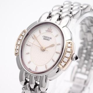 セイコー(SEIKO)の【SEIKO】セイコー'クレドール K18YG ☆ダイヤモンド☆(腕時計)