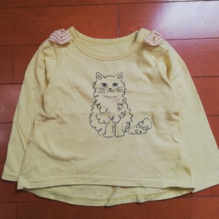 3can4on - Tシャツ 90cm 女の子 長袖 カットソー