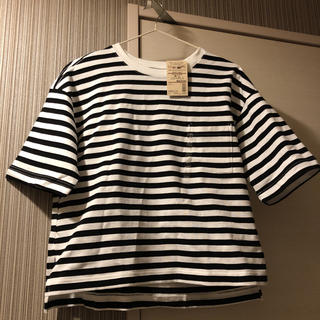 MUJI (無印良品) - 無印良品 クルーネックワイドTシャツ
