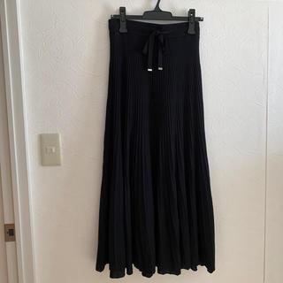 ミラオーウェン(Mila Owen)のまー様専用 ニットプリーツスカート(ロングスカート)