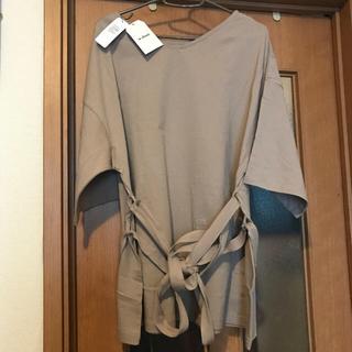 w closet - w closet ベージュ オーバーサイズTシャツ