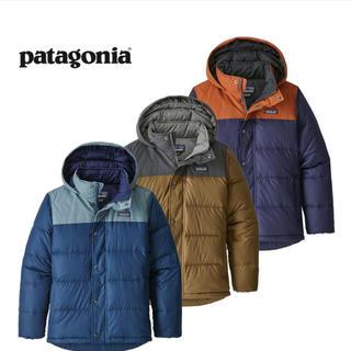 patagonia - 新品タグ付き7-8歳 パタゴニアキッズダウンフーディー