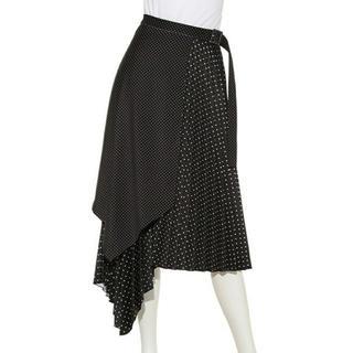 ミラオーウェン(Mila Owen)のミラオーウェン プリーツレイヤードスカート(ロングスカート)