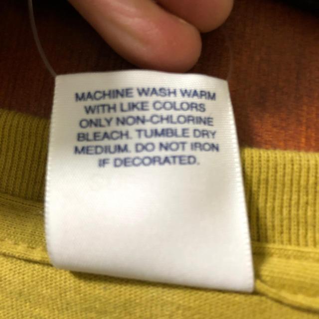 Supreme(シュプリーム)のタグ付き シュプリーム ロンT メンズのトップス(Tシャツ/カットソー(七分/長袖))の商品写真