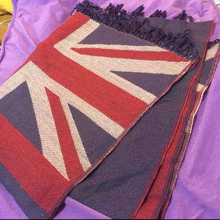 ザラ(ZARA)のイギリス国旗マフラーストール大判(マフラー)