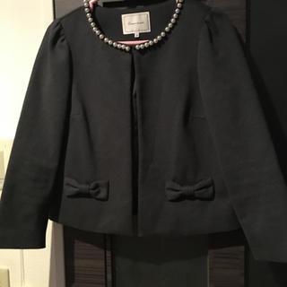 Couture Brooch - クチュールブローチ パールリボンジャケット