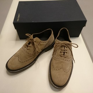 ラルディーニ スエード靴(ドレス/ビジネス)