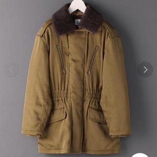 BEAUTY&YOUTH UNITED ARROWS - roku 6 BOA COLLAR ZIP COAT コート ロク モッズコート