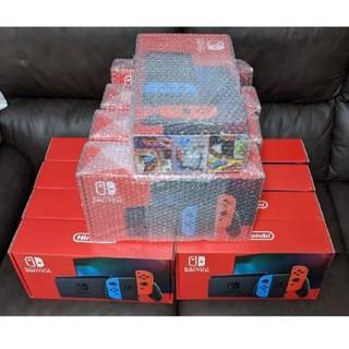 Nintendo Switch - 10台【送料込】新型 任天堂 スイッチ 本体 ネオンブルー レッド
