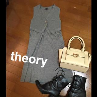 セオリー(theory)のtheory(セオリー)ニットワンピース(ひざ丈ワンピース)