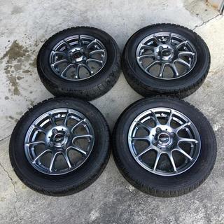 スタッドレスタイヤホイールセット N-BOX、NWGN、ワゴンR、タント(タイヤ・ホイールセット)