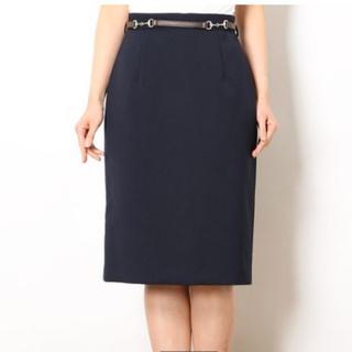 JUSGLITTY - 新品未使用 ベルト付きタイトスカート