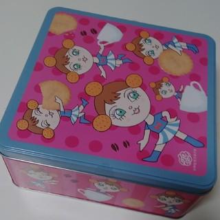 カルディ(KALDI)のカルディ限定 ミレーちゃん スクウェア缶のみ(キャラクターグッズ)
