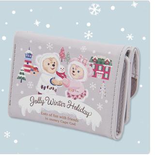 Disney - 定価☆ディズニーシーダッフィーウィンターホリデー財布 未使用