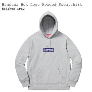 Supreme - 【S】Bandana Box Logo Hooded Sweatshirt