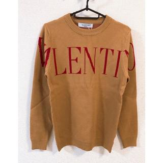 VALENTINO - ●値下げOK●ニット セーター キャメル色 Mサイズ 早い者勝ち