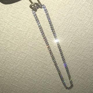 アヴァランチ(AVALANCHE)のavalanche シルバー925 テニスネックレス 41cm 4mmジルコニア(ネックレス)