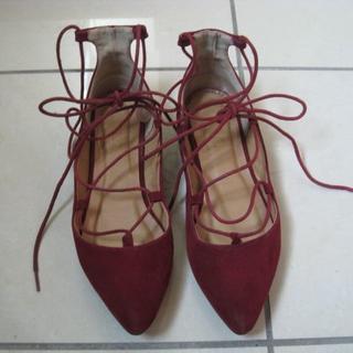 ダブルクローゼット(w closet)のw closet オルテガイーネ レースアップシューズ (ローファー/革靴)