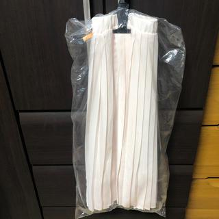セシール(cecile)の‼︎値下げ中‼︎ Cecile プリッツスカート 薄ピンク クリーニング済み(ひざ丈スカート)