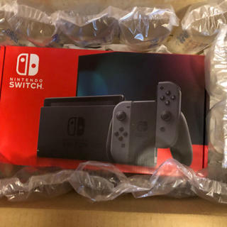 Nintendo Switch - 新型switch グレー