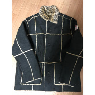 Supreme - キムタク 私物 supreme コート ジャケット レオパード M