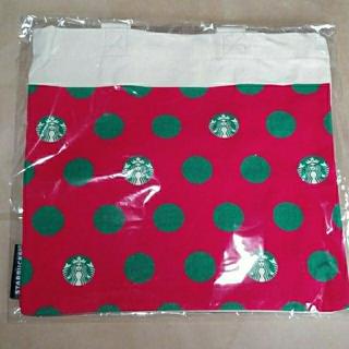 スターバックスコーヒー(Starbucks Coffee)の《新品未開封》 スタバ ミニトートバッグ ミニトート スターバックス(ノベルティグッズ)