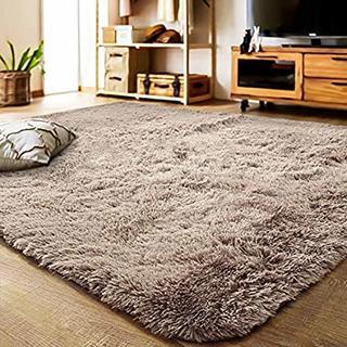 洗える ラグ カーペット  120×160cm ふわふわ 床暖房対応