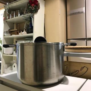MUJI (無印良品) - 無印良品 MUJI ステンレス パスタ鍋 蒸し鍋