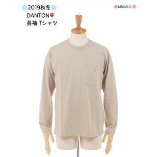 ダントン(DANTON)の❄️2019秋冬❄️ DANTON🎈クルーネック 長袖 Tシャツ (Tシャツ(長袖/七分))
