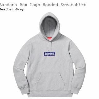 Supreme - Sサイズ Bandana Box Logo Hooded Sweatshirt