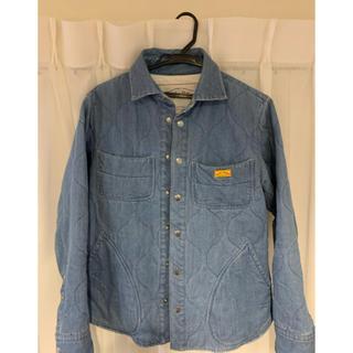 ネイタルデザイン(NATAL DESIGN)のネイタルデザイン キルテッドシャツMサイズ(Gジャン/デニムジャケット)