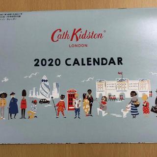 キャスキッドソン(Cath Kidston)のInRed  1月号 付録 ☆ キャス キッドソン2020カレンダー(カレンダー/スケジュール)
