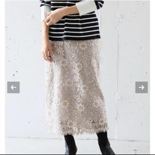 IENA - 新品★IENA ニュアンスレースタイトスカート