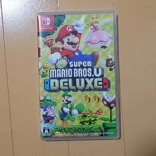 Nintendo Switch - New スーパーマリオブラザーズ U デラックス Switch ソフト