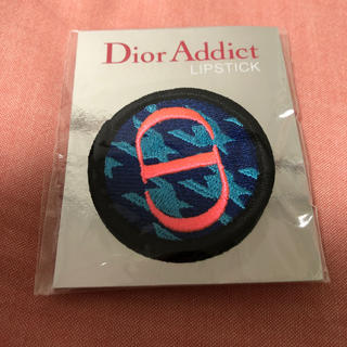 ディオール(Dior)のディオール ノベルティ ピンバッチ ブルー(バッジ/ピンバッジ)