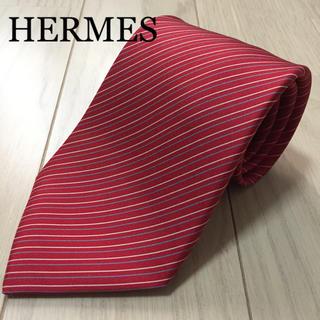 Hermes - HERMES エルメス シルクネクタイ ⑤