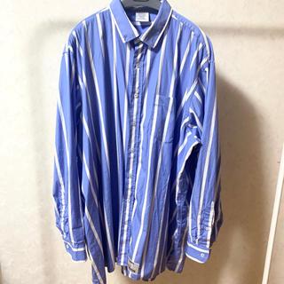 Balenciaga - vetements オーバーサイズ ストライプシャツ