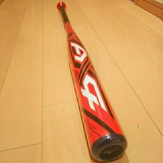 MIZUNO(ミズノ)の【新品】激飛ミズノAX4ソフトボール3号バット85*740トップ スポーツ/アウトドアの野球(バット)の商品写真