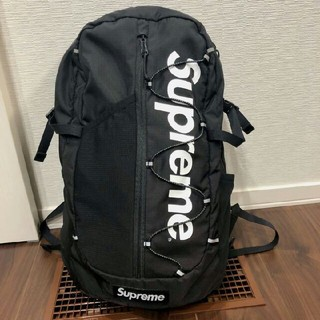 supreme 17ss backpack boxlogo