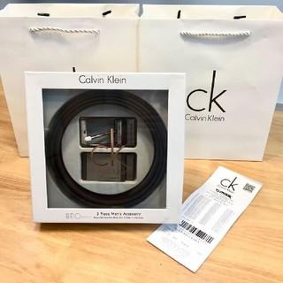 カルバンクライン(Calvin Klein)のCalvinKlein クリスマスプレゼント メンズベルト(ベルト)