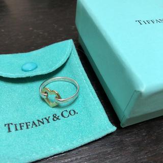 ティファニー(Tiffany & Co.)のティファニー ハートリング 指輪 SV925 13号(リング(指輪))