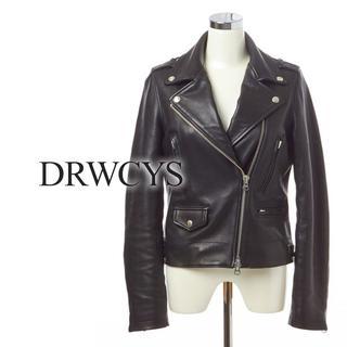 ドロシーズ(DRWCYS)の19AW 新品 DRWCYS ラムレザーライダース【ブラック】未使用(ライダースジャケット)