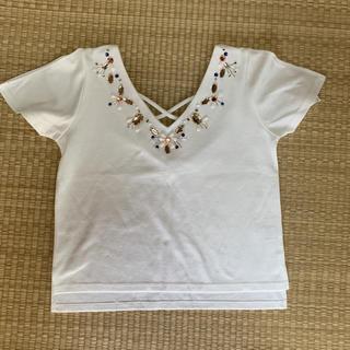 セシルマクビー(CECIL McBEE)のTシャツ(Tシャツ(半袖/袖なし))