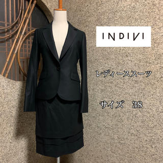 INDIVI - INDIVI レディーススーツ 38 上下セット